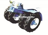 Комплект дополнительных транспортных колес - 899