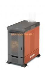 Надежная современная отопительная печь с режимом длительного горения Теплодар Матрица - 633